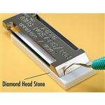 Diamond Head Ceramic Stone To Maintain Edge T061