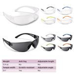 Cortez Safety Glasses - 4 Pack