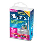 Piksters Interdental Brushes 40 Pack 40/Box