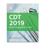 CDT 2019-Dental Procedure Codes
