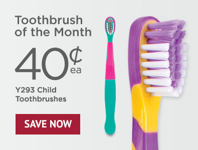 Toothbrush of the Month - SmileGoods Y293 Child Toothbrushes