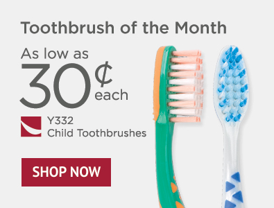 Toothbrush of the Month - Y332 Child Toothbrushes