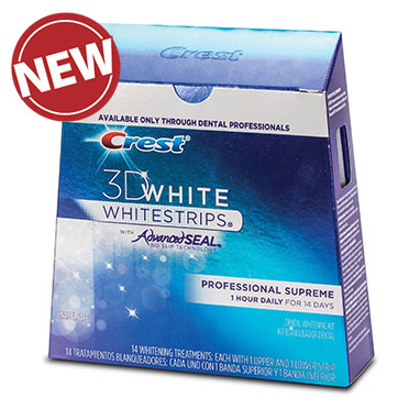 Crest 3D Whitestrips with Advanced Seal