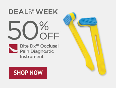 Deal of the Week - Bite Dx Occlusal Pain Diagnostic Instrument