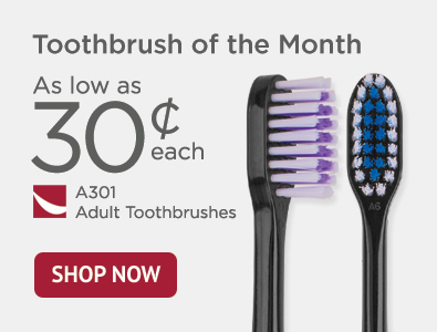 Toothbrush of the Month - A301 Adult Toothbrushes