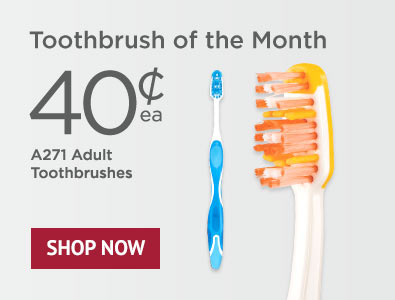 Toothbrush of the Month - SmileGoods A271 Toothbrushes