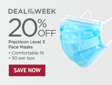 Deal of the Week - Save 20% on Practicon Level 3 Face Masks
