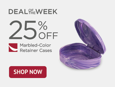 Deal of the Week - Marbled-Color Retainer Cases