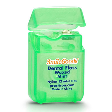 SmileGoods Mint Waxed Dental Floss