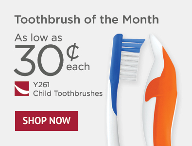 Toothbrush of the Month - SmileGoods Y261 Child Toothbrushes