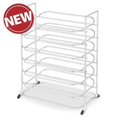 Chrome Mini Tray Rack