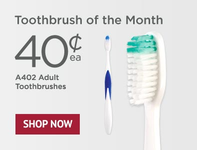 Toothbrush of the Month - SmileGoods A402 Toothbrushes