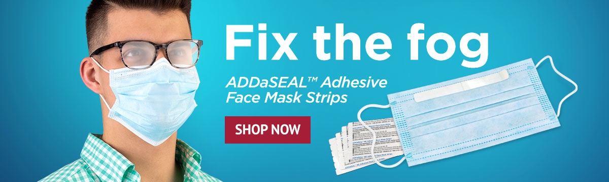 ADDaSEAL Adhesive Face Mask Strips