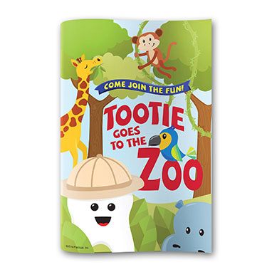 Tootie Goes To The Zoo Activity Books