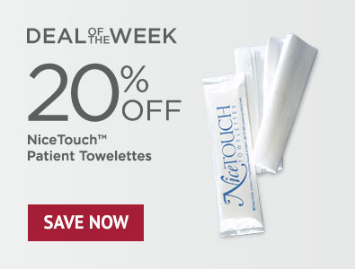 Deal of the Week - 20% Off NiceTouch Patient Towelettes