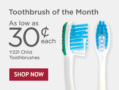 Toothbrush of the Month - SmileGoods Y221 Child Toothbrushes