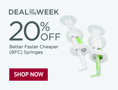 Deal of the Week - 20% Off Better Faster Cheaper (BFC) Syringes