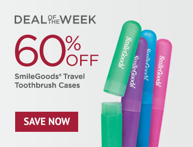 Deal of the Week - Save 60% on SmileGoods Travel Toothbrush Cases