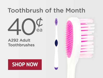 Toothbrush of the Month - SmileGoods A292 Toothbrushes