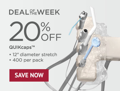 Deal of the Week - Save 20% on QUIKcaps