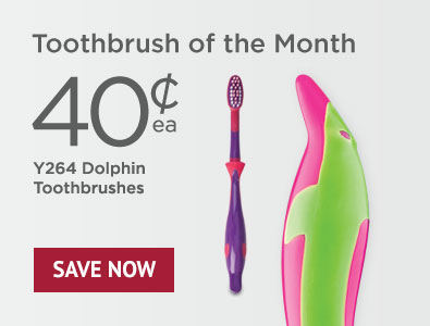 Toothbrush of the Month - SmileGoods Y264 Child Toothbrushes