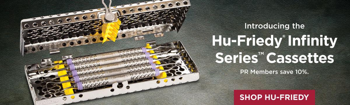 Hu-Friedy Infinity Series Cassettes