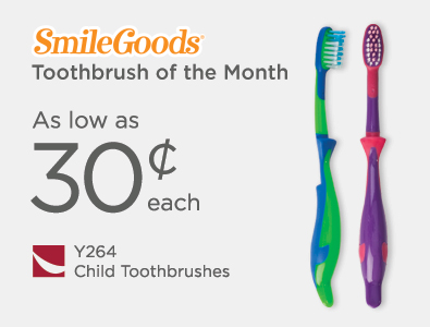 Toothbrush of the Month - SmileGoods Child Toothbrushes