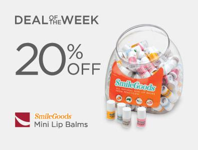 Deal of the Week - SmileGoods Mini Lip Balms