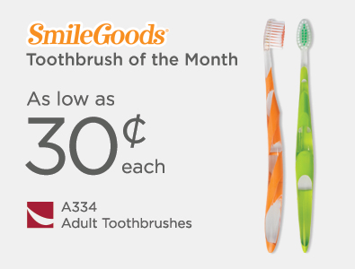 Toothbrush of the Month - SmileGoods Adult Toothbrushes