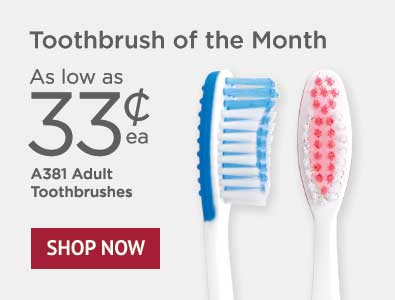 Toothbrush of the Month - SmileGoods A381 Toothbrushes