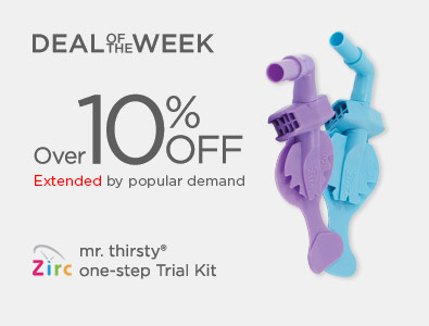 Deal of the Week - Mr. Thirsty One-Step Trial Kit