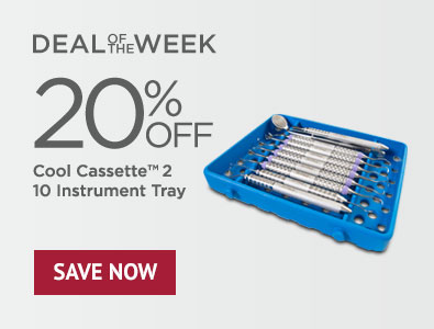Deal of the Week - Save 20% on Cool Cassette 2 Size 10 Instrument Tray