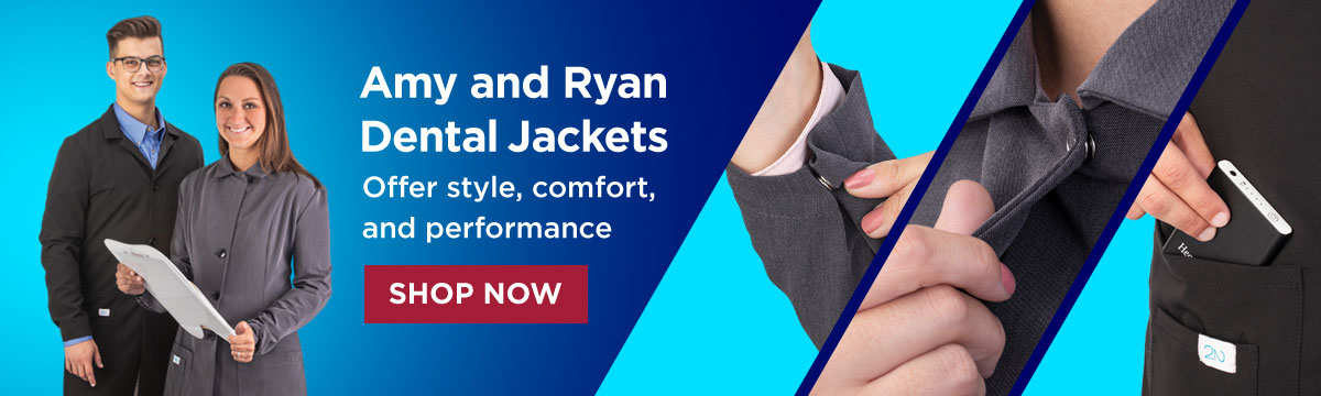 Amy and Ryan Dental Jackets