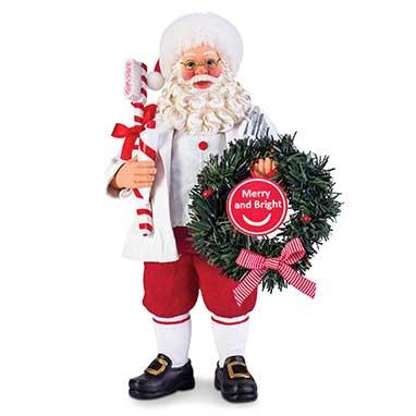 Possible Dreams Brite Smile Santa