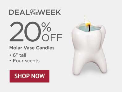 Deal of the Week - 20% Off Molar Vase Candles