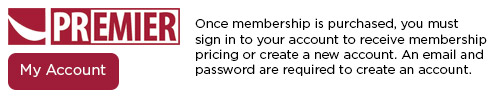Log in to your to account access Premier Membership benefits